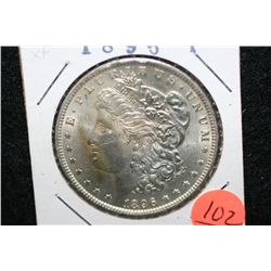 1896 Silver Morgan $1