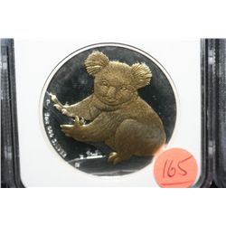 2009P Gilt Australia $1 Koala, NGC graded MS69