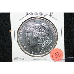 1886 Silver Morgan $1, MS63