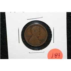 1910-S Wheat Back penny