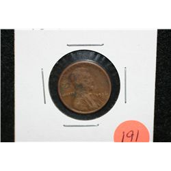 1926-S Wheat Back penny