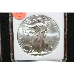2012 Silver Eagle $1, MCPCG graded MS70