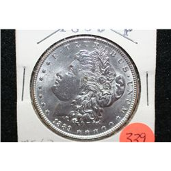 1889 Silver Morgan $1, MS63