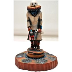 Hopi Eototo Kachina Chief Cottonwood Kachina - Sterling