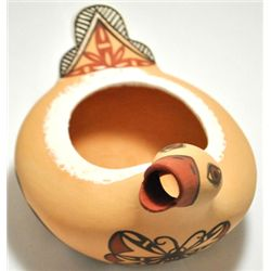 Zuni Duck Pouring Bowl Pottery - Tara Edaakie
