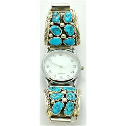 Navajo Sleeping Beauty Turquoise Men's Watch