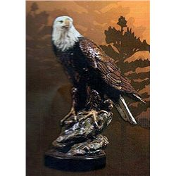 Bronze Sculpture - Spirit of America by D. Scott