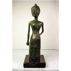 Pablo Picasso Original, limited Edition Bronze -Woman With Dress