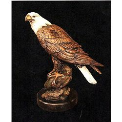 Bronze Sculpture - Spirit of American (small) by D. Scott