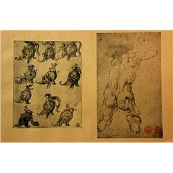 Original Museum Lithographs printed in the late 1800's to early 1900's