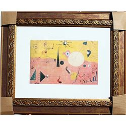 Catalan Landscape - Miro - Limited Edition