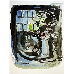 Original Watercolor on Paper by Chagall .