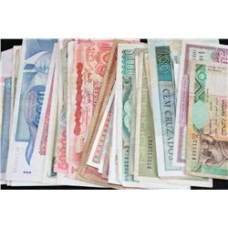 Foreign Bank Note, various dates & conditions, lot of 35