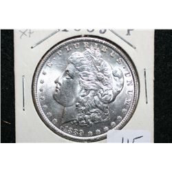 1889 Silver Morgan $1, XF