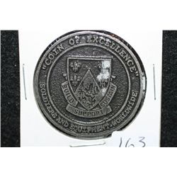 249th Engineer Battalion (Prime Power) Black Lions Coin of Excellence medallion