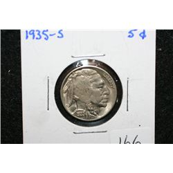 1935-S Buffalo Nickel
