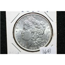 1890 Silver Morgan $1, MS63