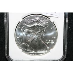2011-S Silver Eagle $1, NGC graded MS69