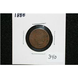 1888 Indian Head penny