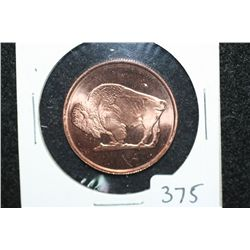 2011 Copper Round, .999 fine 1/4 oz.