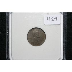 1946 Wheat Back penny, PGS graded EF40 Corr.