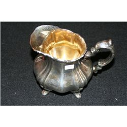 Sterling Silver Milk Pitcher, E.P.C.A. Bamcaster Rose by Bole