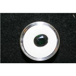Green Stone loose w/chip, lot of 1