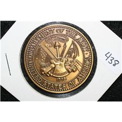 USA Dept. of the Army Facilities & Services, Panama 96-97 Medallion