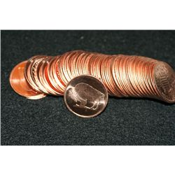 2011 Copper Round, .999 fine 1/4 oz., roll of 35