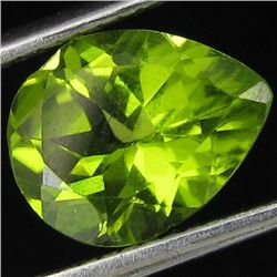2.2ct Fire Green Peridot Pear (GEM-44053)