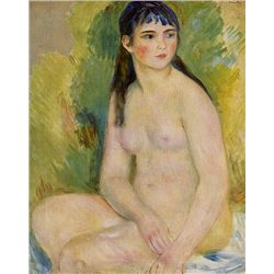 Bather - Renoir - Limited Edition on Canvas