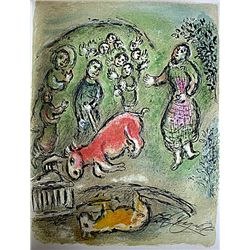 Marc Chagall Original Lithograph from L'Odyss&#233;e Suite