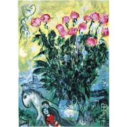 "Marc Chagall ""Les Roses"""