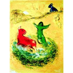 "Marc Chagall ""Wolf Pit"""