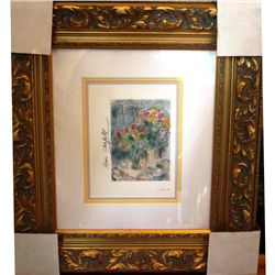 Chagall - Hand Signed Lithograph