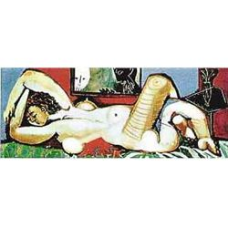 "Picasso ""Nude Lying Down"""