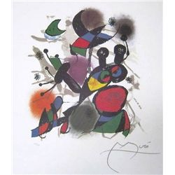 Miro -  Litho III   Lithograph