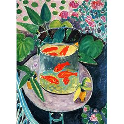 The Goldfish - Matisse - Limited Edition on Canvas