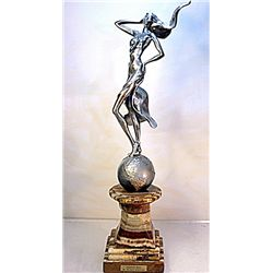 Original Real Silver Sculpture  by Michael Schofield - Alexandrite