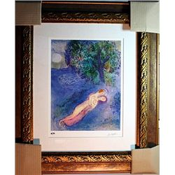 Marc Chagall Limited Edition - Philetas Lesson
