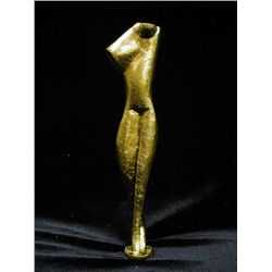 Alexander Archipenko Original Limited Edition 24K Gold Layered Bronze  Sculpture - Torso