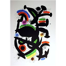Original Joan Miro  Lithograph-