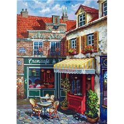 Anatoly Metlan, La Ruelle, Signed SS on Canvas