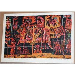 Norman Laliberte, Tarot Cards,  Signed Lithograph