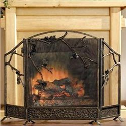 Pinecone Fireplace Screen