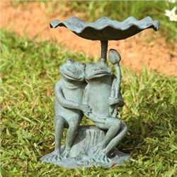 Frog Lovers Birdbath / Bird Feeder