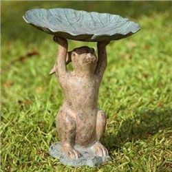 Rabbit Bird Feeder / Birdbath