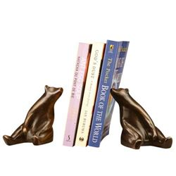 Sitting Bear Bookends