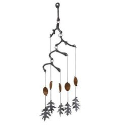Acorn & Leaf Wind Chime