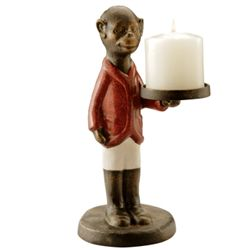 Monkey Jockey Candle Holder